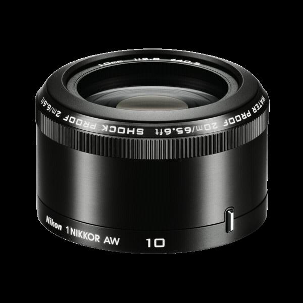 Nikon AW 10MM f2.8 ZWART