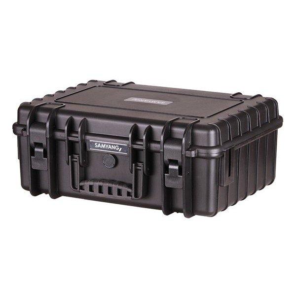 B&W Outdoor.cases Type 5000 zwart / Samyang inlay
