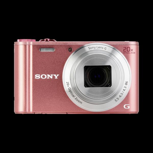 Sony cybershot dsc WX350 roze