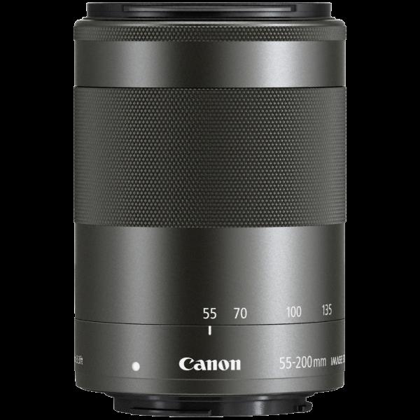 Canon EF-M 55-200/4.5-6.3 IS STM zwart