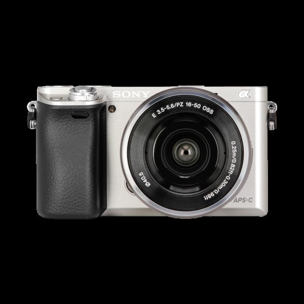 Sony A6000+16/50 MM zilver
