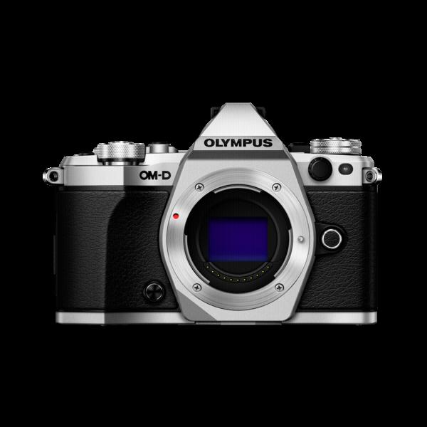Olympus E-M5II body zilver