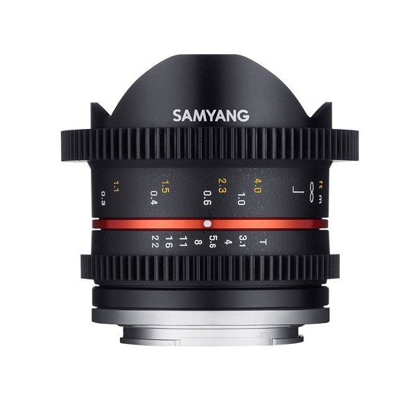 Samyang 8mm T3.1 cine UMC fisheye II Fuji X