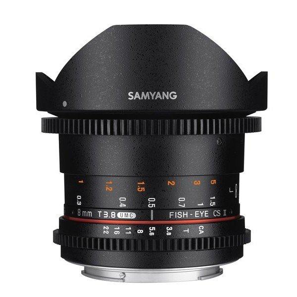 Samyang 8mm T3.8 UMC VDSLR fisheye CSII Olympus 4/3