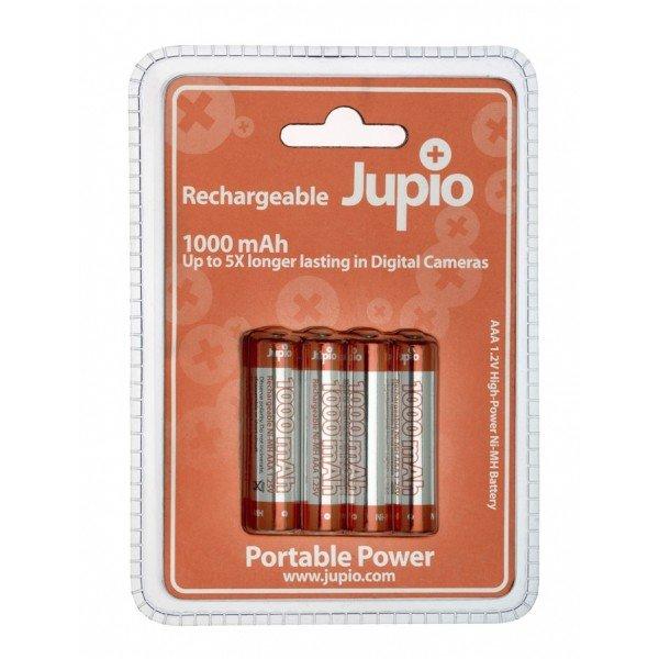 JUPIO Ni-MH AAA 1000 4 PAK