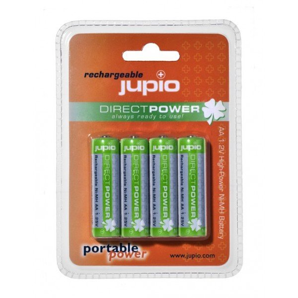 JUPIO Direct Power AA Ni-MH 4 PAK