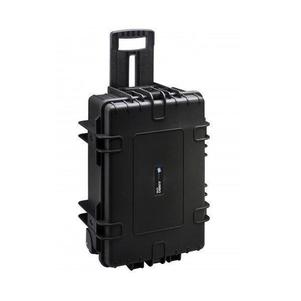 B&W Outdoor.cases Type 6800 zwart / plukschuim