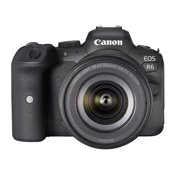 Canon eos R6+RF 24-105 4.0-7.1
