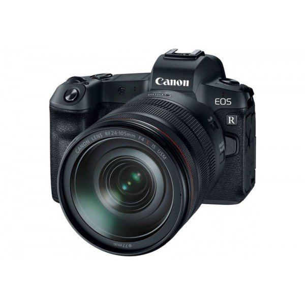 Canon eos R + RF 24-105L + EF adapter