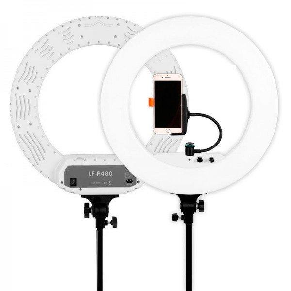 Caruba ringlamp LED vloggerset 18