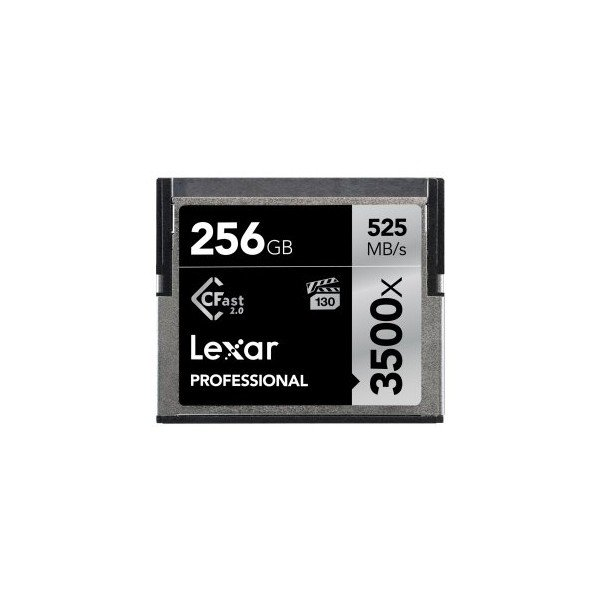 Lexar CFast 2.0 Professional 3500x 256GB