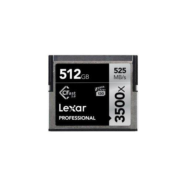 Lexar CFast 2.0 Professional 3500x 512GB