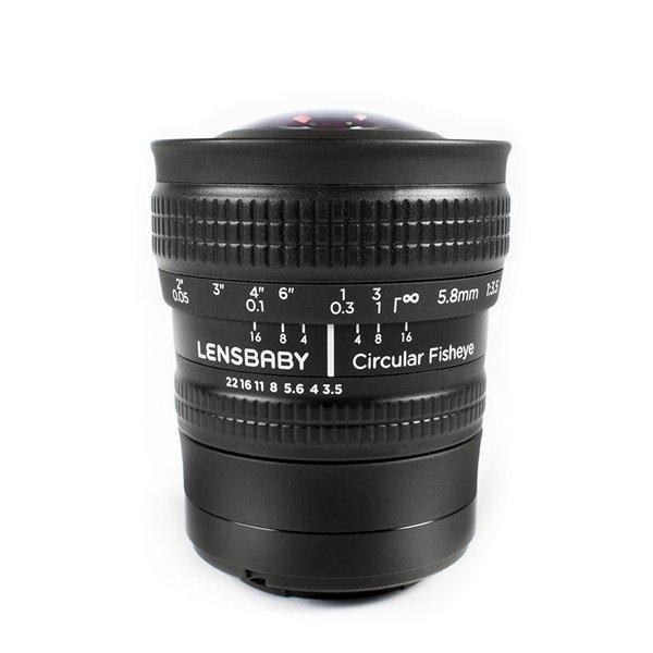 Lensbaby Circular fisheye lens Sony E-mount