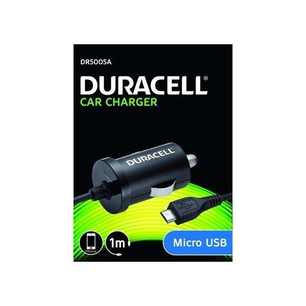 Duracell micro USB 12V AUTO lader (5V/1A)
