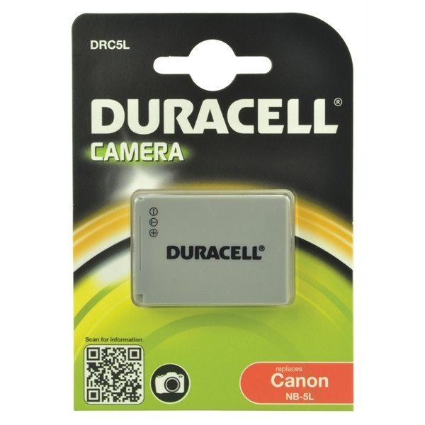 Duracell Canon NB-5L