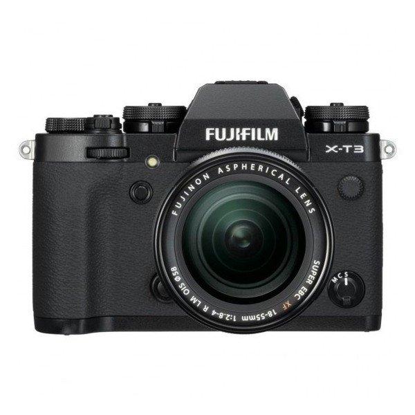Fujifilm X-T3+18/55 2.8/4.0 zwart