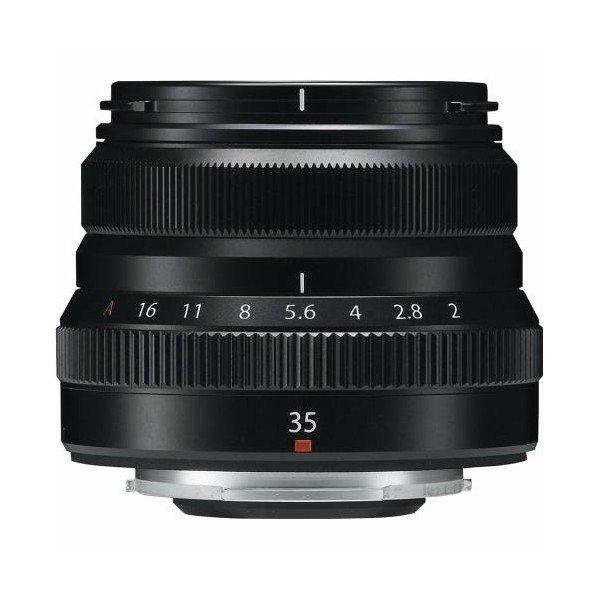 Fujifilm Fujinon XF35mm/2.0 WR zwart