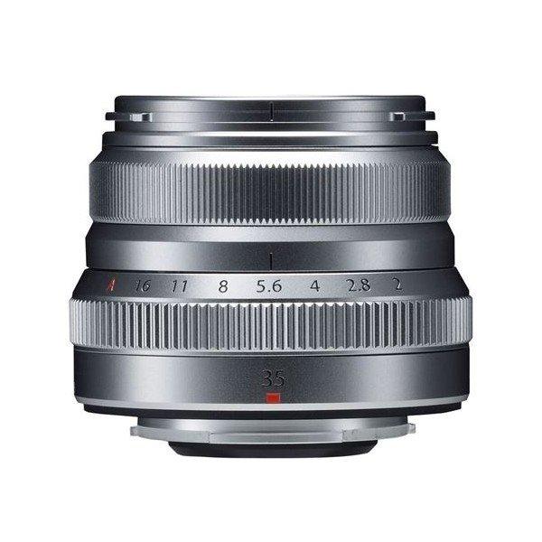 Fujifilm Fujinon XF35mm/2.0 WR zilver