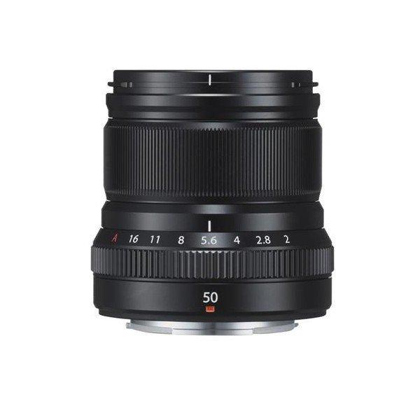 Fujifilm Fujinon XF50mm/2.0 WR zwart