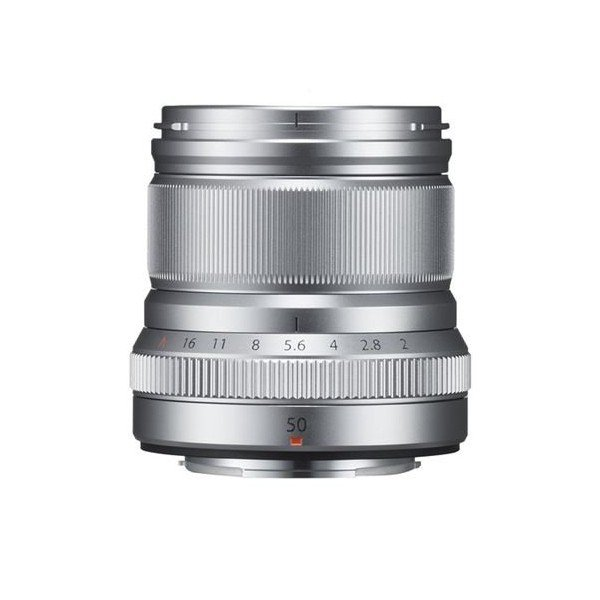 Fujifilm Fujinon XF50mm/2.0 WR zilver