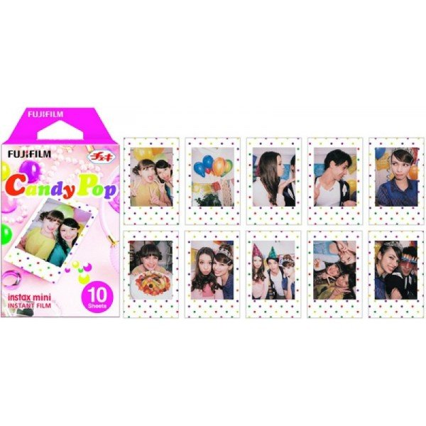 Fujifilm Instax Film Mini Candy Pop