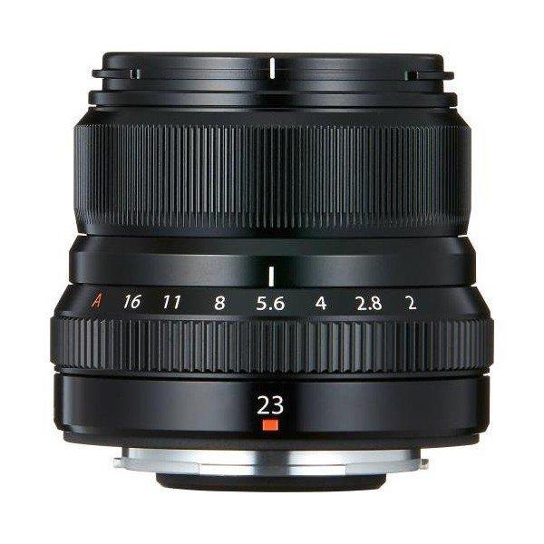 Fujifilm Fujinon XF23mm/2.0 WR zwart