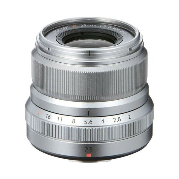 Fujifilm Fujinon XF23mm/2.0 WR zilver