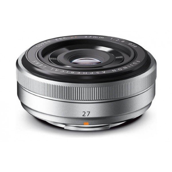 Fujifilm Fujinon XF27mm/2.8 zilver