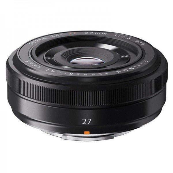 Fujifilm Fujinon XF27mm/2.8 zwart