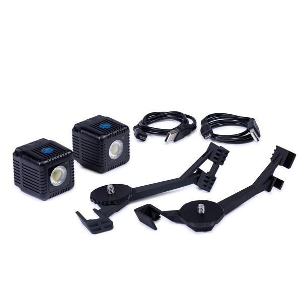 Lume Cube DJI Mavic Pro Mounting Bars met 2 Lume Cubes