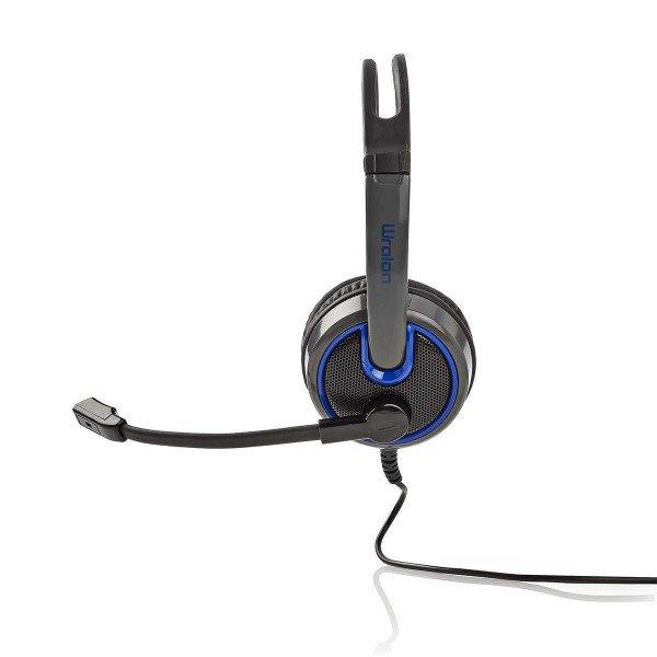Nedis headset ghst200bk