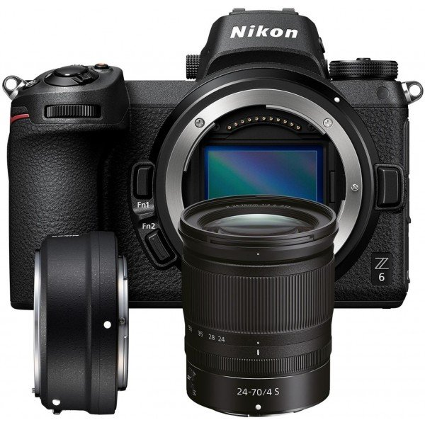 Nikon Z6 + 24/70 + FTZ adapter
