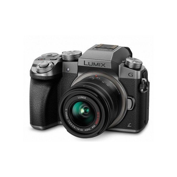 Panasonic Lumix DMC-G7 KEG+FS14/42 zilver