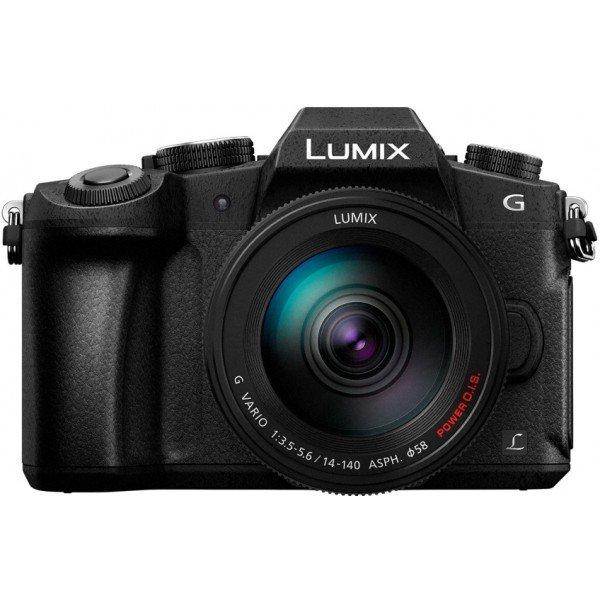 Panasonic Lumix DMC-G80+14-140mm f/3.5-5.6 Zwart