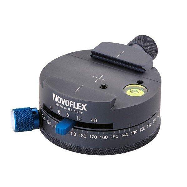 Novoflex Panorama kop met Q-mount; 360° markering; 6/8/10/48 stappen