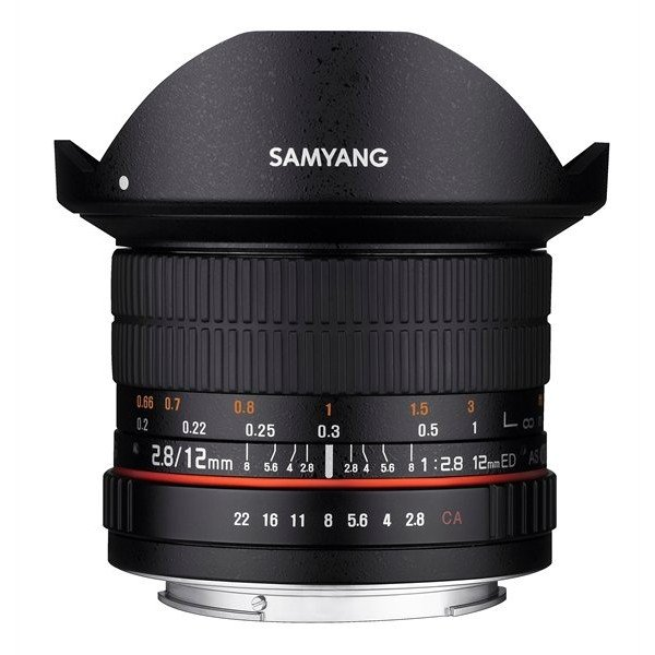 Samyang 12mm F2.8 ED AS NCS fisheye MFT