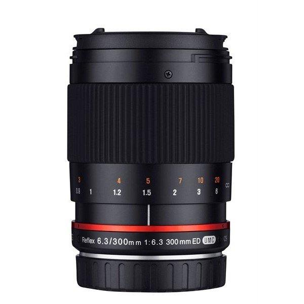 Samyang 300mm F6.3 spiegel UMC CS Canon M zwart