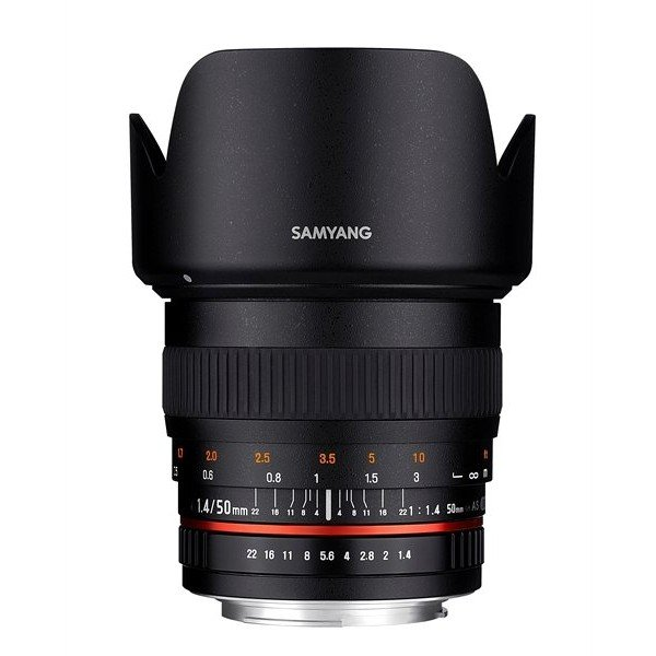 Samyang 50mm F1.4 AS UMC Canon M