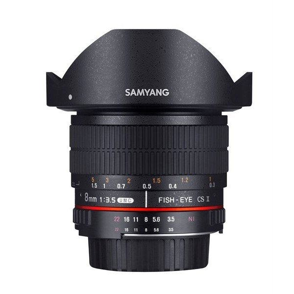 Samyang 8mm F3.5 UMC fisheye CSII Sony E-mount