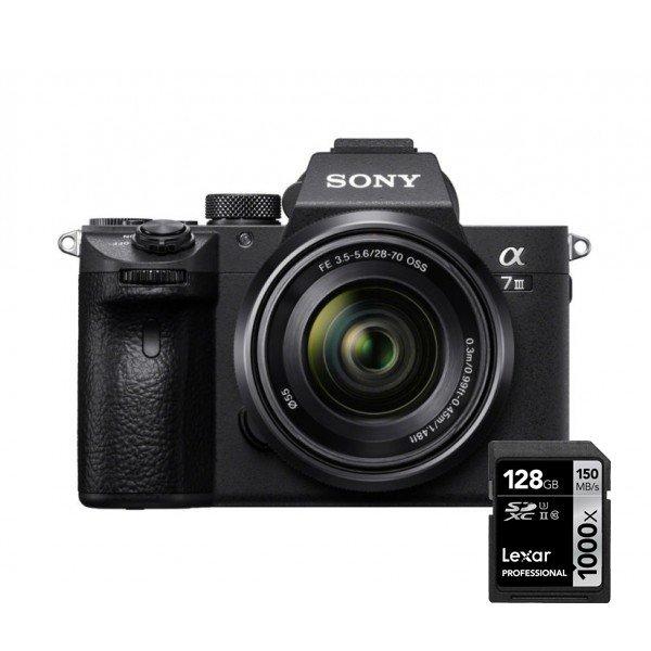 Sony A7 MARK III + SEL 28-70 mm OSS en gratis geheugenkaart
