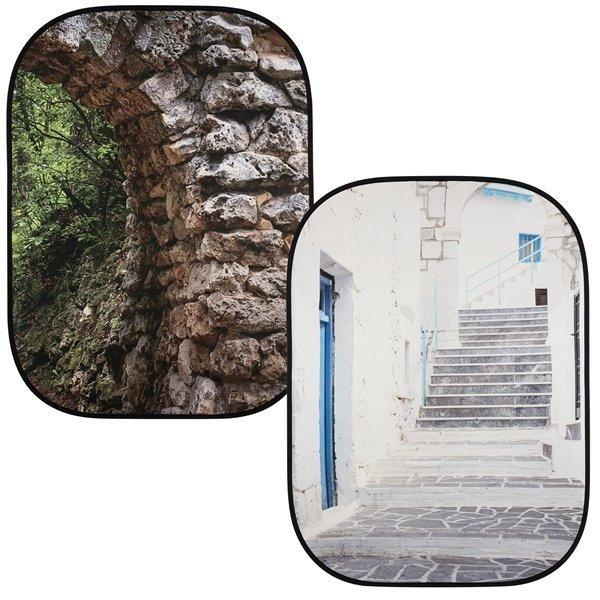 Lastolite Perspective collapsible 150x210cm stone/steps