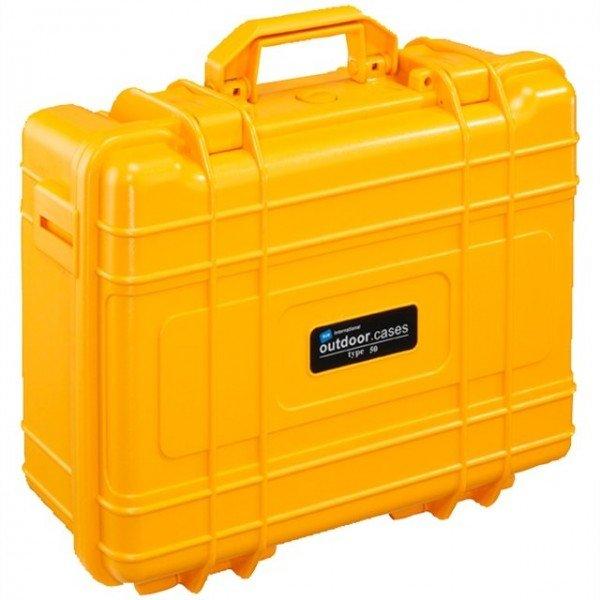 B&W Outdoor.cases Type 50 oranje / leeg