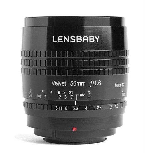 Lensbaby Velvet 56 black Samsung NX