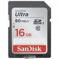 Sandisk SDHC 16gb Ultra 80mb