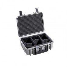 B&W Outdoor.cases Type 1000 grijs / verdeler