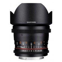 Samyang 10mm T3.1 VDSLR ED AS NCS CS II Sony