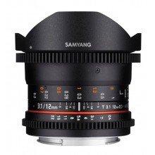 Samyang 12mm T3.1 VDSLR ED AS NCS fisheye Fuji X