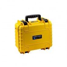 B&W Outdoor.cases Type 3000 geel / DJI spark inlay