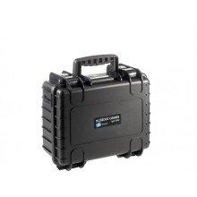 B&W Outdoor.cases Type 3000 zwart / leeg