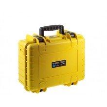 B&W Outdoor.cases Type 4000 geel / leeg
